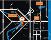 龙庭首府交通图