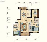 清水湾・幸福枫景3室2厅2卫0平方米户型图