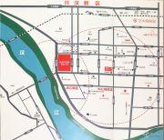 汉中新城吾悦广场交通图
