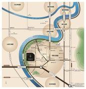 中国铁建・西派时代交通图