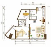 勒泰中心2室2厅2卫0平方米户型图