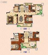 南昌恒大御景(原恒大帝景)4室2厅3卫181平方米户型图