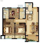 公元壹号3室2厅2卫103平方米户型图