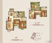 正荣学府壹号3室2厅2卫138平方米户型图