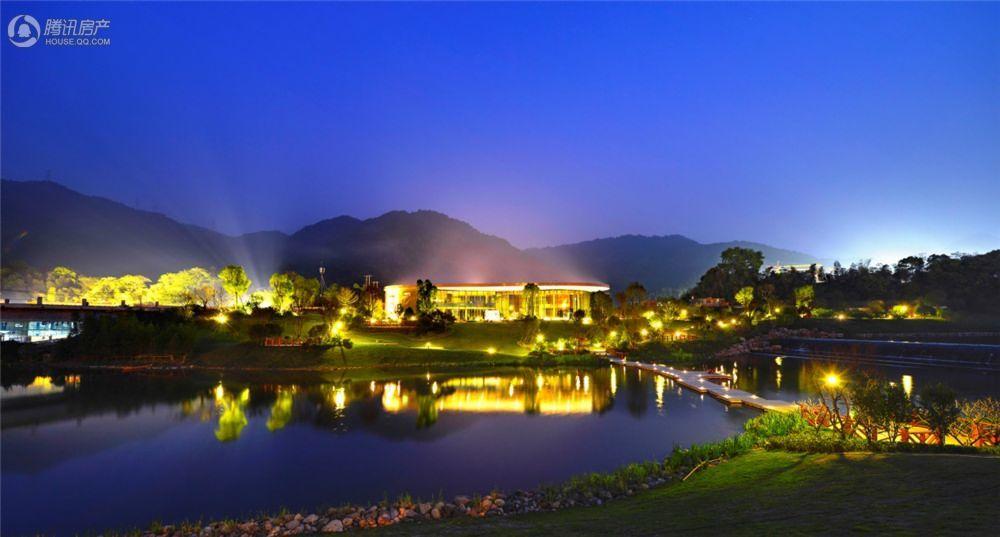 福州温泉城实景图