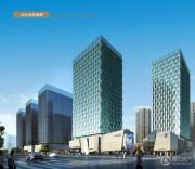 绿地中央广场效果图
