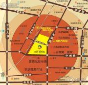 黄河时代城交通图