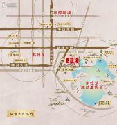 荣安山语湖苑交通图