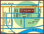 梧桐墅・购物广场交通图
