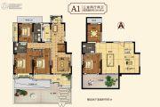 中建・柒号院3室2厅2卫136平方米户型图