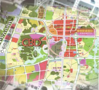绿地组团设计图
