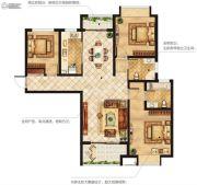 美盛白河湾3室2厅2卫0平方米户型图