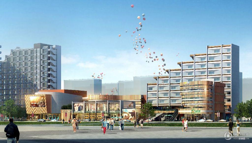 山水连城的设计理念,时尚前卫的建筑设计风格,个性鲜明的4.