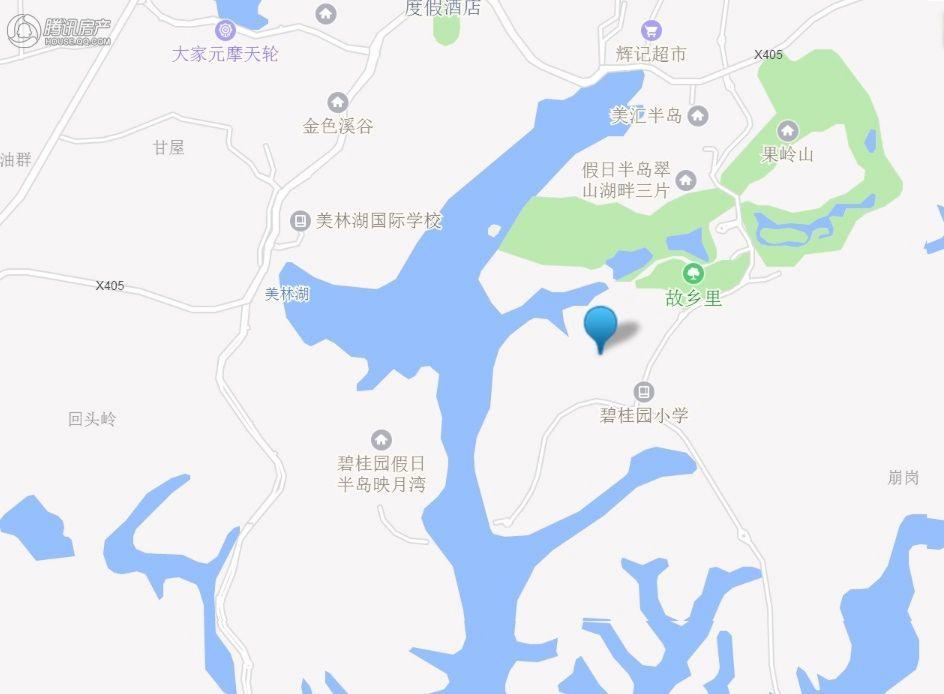 保利麓湖交通图