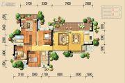 北大资源颐和翡翠府4室2厅2卫134平方米户型图