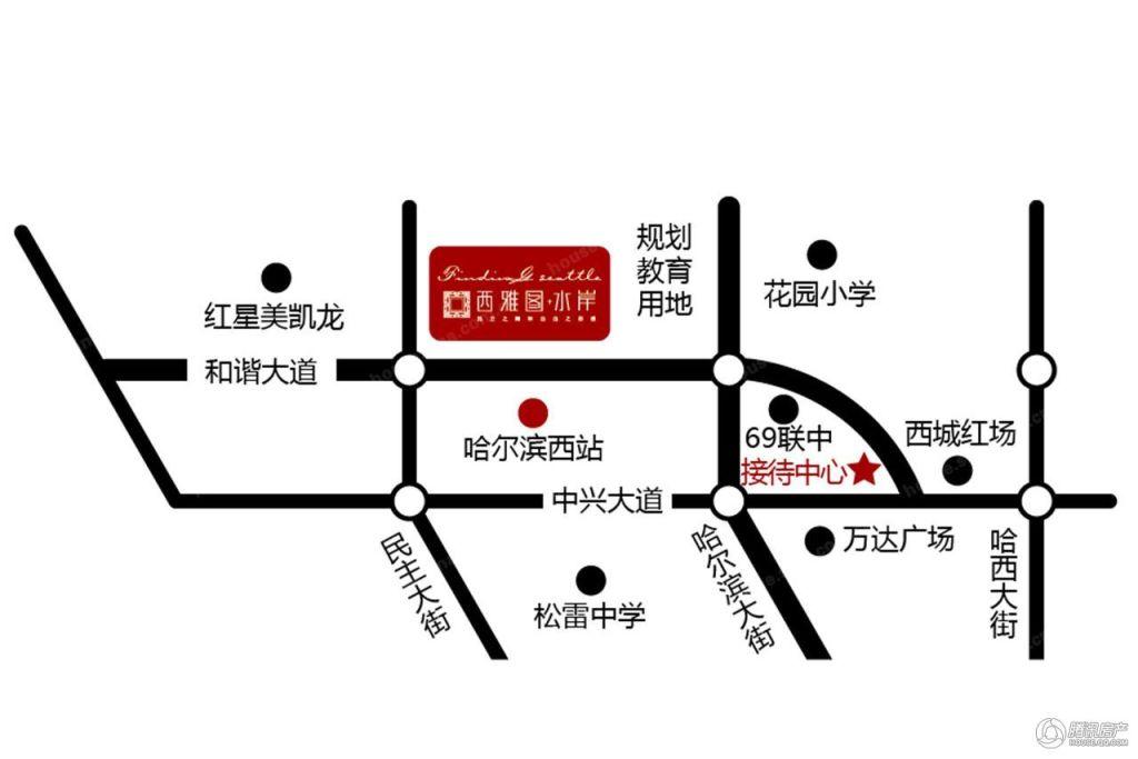 区位规划图
