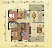 榕江明珠4室2厅2卫188平方米户型图