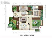 石梅半岛2室2厅2卫81平方米户型图
