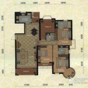 东方名城3室2厅3卫173平方米户型图