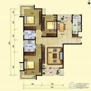 8哩岛3室2厅2卫135平方米户型图