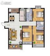 广弘豪庭3室2厅2卫0平方米户型图