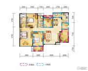 金地天府城4室2厅2卫135平方米户型图