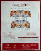 泷江翡翠城3室2厅2卫95--107平方米户型图
