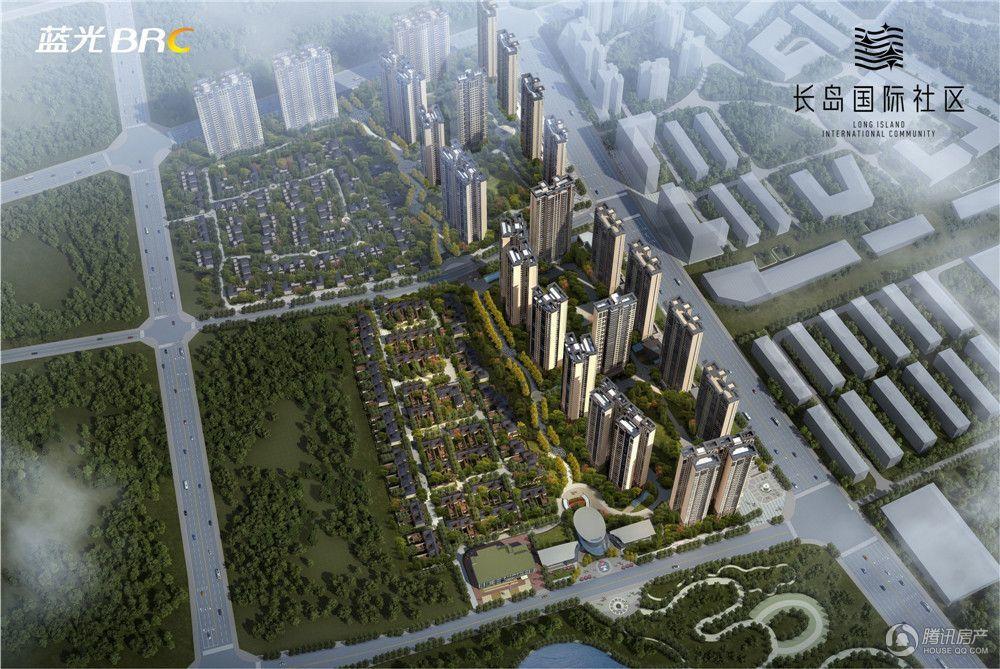 龙马潭泸州蓝光·长岛国际社区房源在售 均价7300元/平