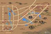新城玺樾骊府交通图