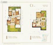 九洲绿城・翠湖香山4室2厅2卫138平方米户型图