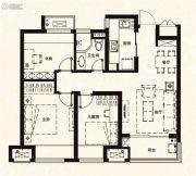 万科城3室2厅2卫88平方米户型图