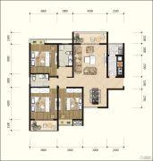 耘进・钟山国际城3室2厅2卫136平方米户型图