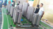 印华南滨豪庭沙盘图