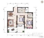 经典天成云墅2室2厅1卫0平方米户型图