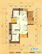 融晟公园大地0室0厅0卫0平方米户型图