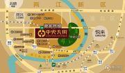 蔡家中央大街交通图