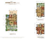 金昌启亚・白鹭金岸5室2厅4卫491--543平方米户型图