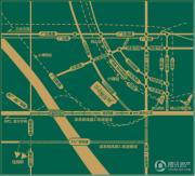 绿地丽雅香榭花城交通图