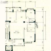星湖城4室2厅2卫167平方米户型图