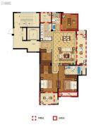 丽江半岛3室2厅2卫129--152平方米户型图