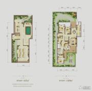 江与城4室2厅4卫216平方米户型图