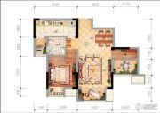 中昂锦绣1室1厅1卫0平方米户型图
