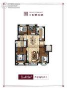 万科翡翠公园4室2厅2卫120平方米户型图