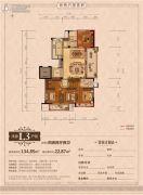 丽江半岛4室2厅2卫137--157平方米户型图