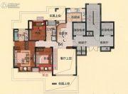 亿邦豪庭120平方米户型图