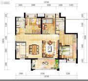 时代廊桥(增城)3室2厅2卫99平方米户型图