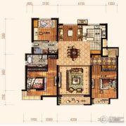 廊坊孔雀城悦府4室2厅2卫138平方米户型图