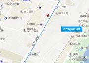 绿城武汉黄浦湾交通图