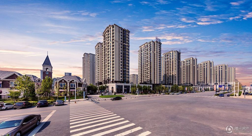 鸿坤·理想湾实景图