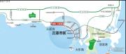 鲁能三亚湾交通图